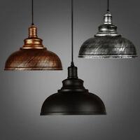 Iron Vintage Ceiling light Pendant Retro Lamp Shade Industrial Chandelier Lamp