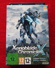 Xenoblade Chronicles x Limited Edition NINTENDO WIIU gioco NUOVO, versione tedesca