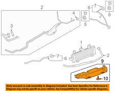 Chevrolet GM OEM Silverado 2500 HD Transmission Oil Cooler-Lower baffle 23486244