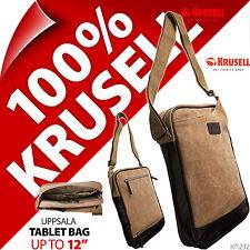 "Krusell Uppsala 12"" Messenger Shoulder Bag Tablet Fits Apple Ipad 2 3 4 Air Pro"