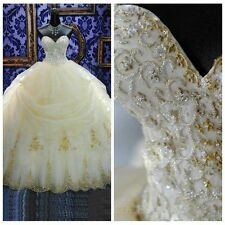 Luxury Beading Wedding Quinceanera Dress Formal Prom Pageant Sweet 16 Ball Gown