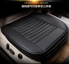 Breathable Bamboo Charcoal Car Seat Cushion Cover Full Surround Protect Seat Pad