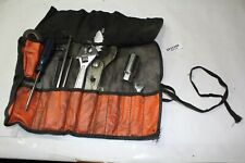 tool kit roll up pouch + tools Softail Harley FXR FXLR FXRT FL Dyna XL EPS22368