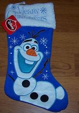 Disney Merry Christmas Stocking Frozen Olaf