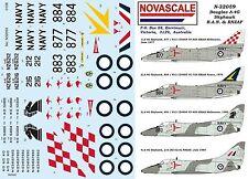 RAN & RNZAF A-4G Skyhawk Decals 1/32 Scale N32059