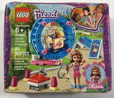 New listing Lego Friends Olivia's Hamster Playground Building Toy #41383 New dented box