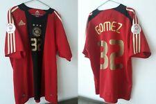 GERMANY 2008/2009 AWAY FOOTBALL SHIRT JERSEY GOMES  32 #