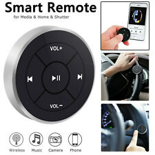 Bluetooth Media Audio MP3 Remote Control Button Car Bike Steering US Stock 2020