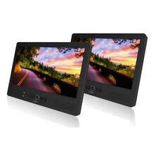 REFLEXION DVD 1052 10,1 pouces double moniteur avec DVD TV 12V/230V USB