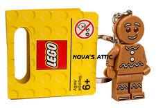 LEGO HOMME DE PAIN D'EPICE PORTE-CLÉS TOUT NEUF