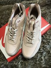 Nike  Air Max 1 Premium Exclusive Particle Beige Size 7 New Boxed Pink Nude