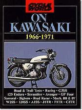 Book - On Kawasaki 1966-71 - Avenger Samurai J1TR 350 - New copy Cycle World