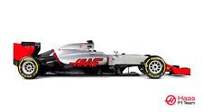 HAAS VF-16 F1 FORMULA 1 RACE CAR POSTER PRINT STYLE B 20x36 HI RES