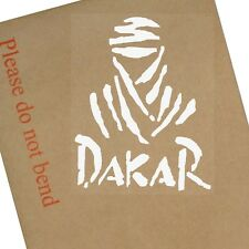 1x Dakar-Car,Buggy,Dirtbike,Motorbike,Motorcycle,Truck,Van,Vehicle,Sign,Sticker,