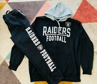 OAKLAND RAIDERS Football NFL Hoodie + Sweatpants Set Size - Small