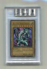 Yu-Gi-Oh! Blue Eyes White Dragon Ultra Rare LOB-001 1st Edition BGS 9.0 Mint!
