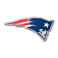 NFL New England Patriots 3D Aluminum Color Car Truck Auto Emblem Sticker Decal