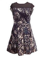 Viscose Knee Length Tea Dresses Plus Size for Women
