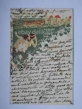 Törley Hungary Ungheria  old postcard K.u.K. Triest Trieste