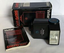 Vivitar 550FD  M/P/O  Flash for Film Cameras