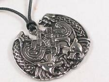 Celtic Beastie Pewter Pendant, Anything is possible!