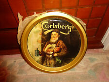 Pub beer tray CARLSBERG Larger / beer tray