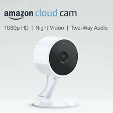 Amazon Cloud Cam 1080p Indoor Wired Security Camera w/ Night Vision, 2 Way Audio