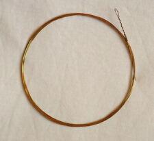 Clavecin : Corde en Laiton 250 cm AVEC BOUCLE, pour clavecin, cembalo, epinette