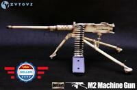 "ZY TOYS 1/6 SCALE U.S. Army Browning M2 Machine Gun for 12"" Figure"