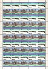 1942 Union Pacific (UP) CHALLENGER Class Train 50-Stamp Sheet / LOCO 100 LOTW
