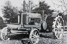 "John Deere 1937 ""Long Hood"" model BW, row crop 12 By 18"" Black X White Picture"