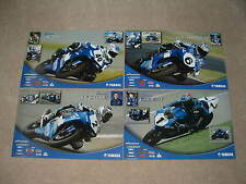 Yamaha Poster Set 2005 Hacking Gobert Disalvo R1 R6 R7