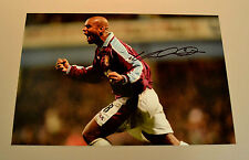 Trevor Sinclair Signed 12x8 Photo West Ham United Memorabilia Autograph + COA