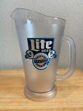 Vintage Miller Lite Super Bowl Xxviii (28) Plastic Draft Beer Pitcher w/Handle