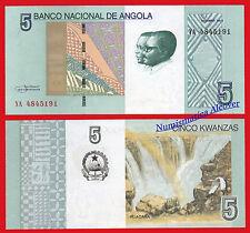 ANGOLA 5 Kwanzas 2012 (2017) Pick NEW  SC /  UNC