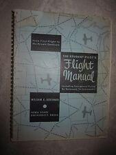Vtg PB book, The Student Pilot's Flight Manual by William Kershner, 1966, 5th pr