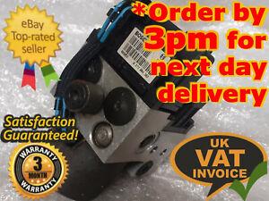Vauxhall Zafira ABS Pump/ECU Control Unit 090581417 0273004362 0265216651