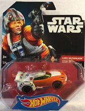 Hot Wheels Star Wars Luke Skywalker 1:64 Diecast Mattel New