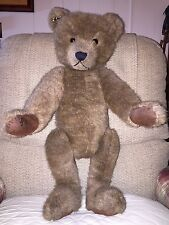 Estate Fresh Vintage Handcrafted Humpback Teddy Bear OOAK
