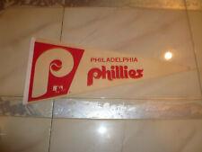 Vintage MLB Phildaelphia Phillies  Baseball Pennant banner flag 1970's