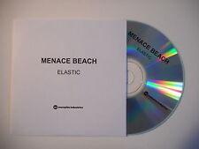 MENACE BEACH : ELASTIC [ CD SINGLE PORT GRATUIT ]