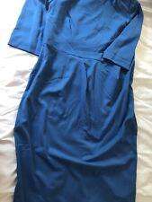 marks and spencer Blue Dress blue size 18