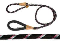 Adjustable Loop Slip Dog Leash with Super Soft Handle 6 Ft by CuteNfuzzy