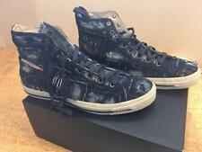 Diesel Exposure I Denim White Mens Hi Trainers Boots US size 12.5 Euro 46
