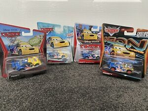 Mattel Disney Pixar Cars Frosty Chase Edition Set Of 4 - Mark Winterbottom