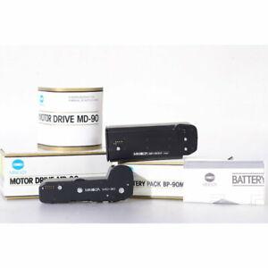 Minolta Motor Drive MD-90 + Batterie-Pack für die 9000 AF - Motordrive - Winder
