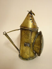Lanterne ancienne en laiton.XVIII°.Lampe,bougeoir,