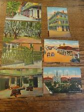 7 Old UNUSED New Orleans, Louisiana Postcards