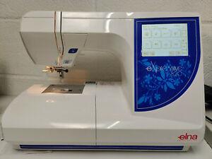 Elna Expressive 820 Computerised Embroidery machine