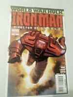 Iron Man Director of SHIELD #19 August 2007 Marvel Comics VARIANT Gage Guice